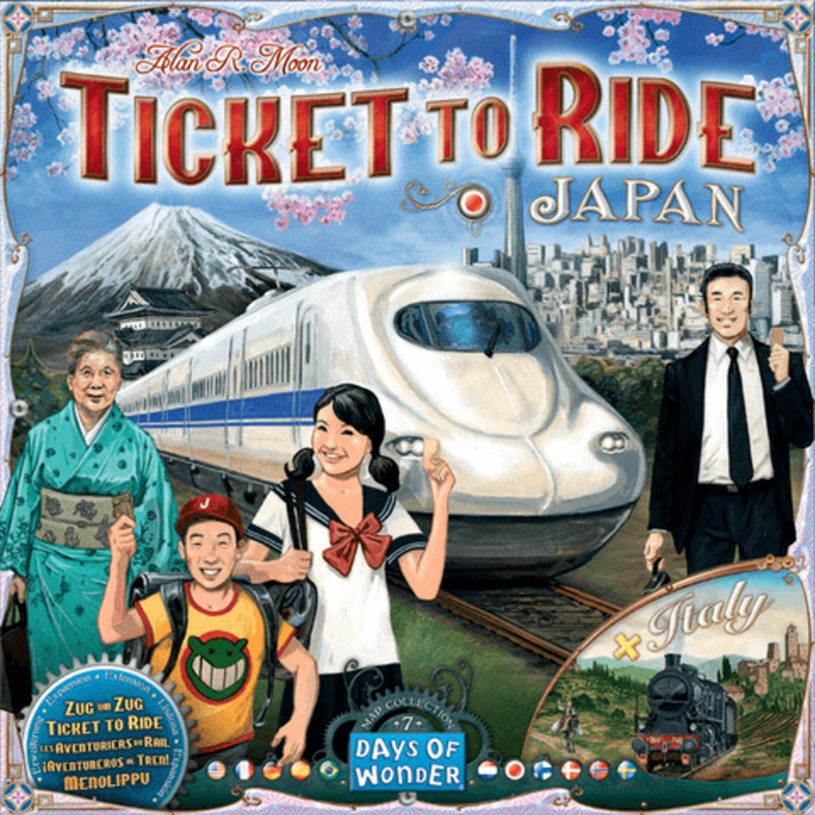 Days of Wonder Ticket to Ride: Japan & Italy