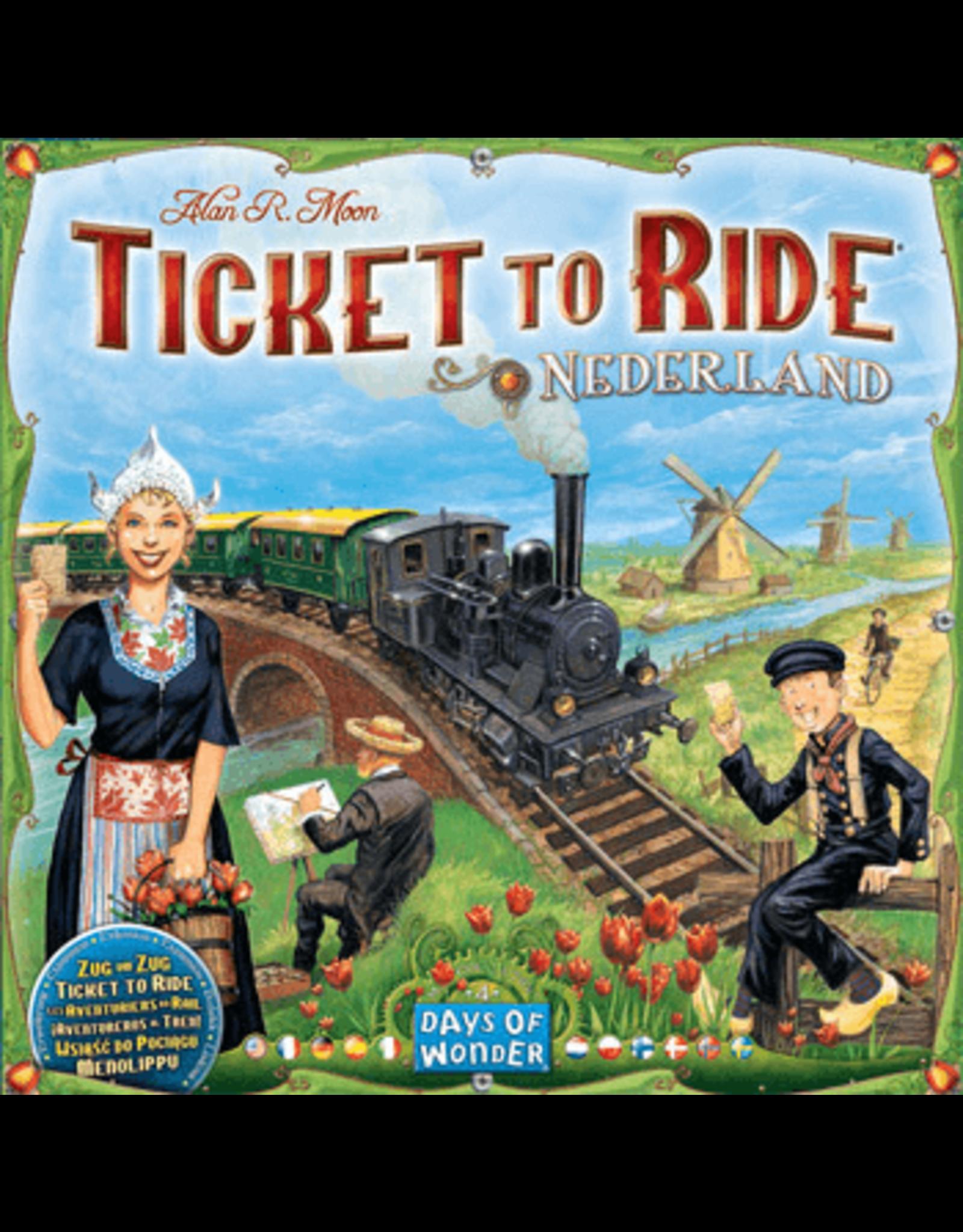 Days of Wonder Ticket to Ride: Nederland