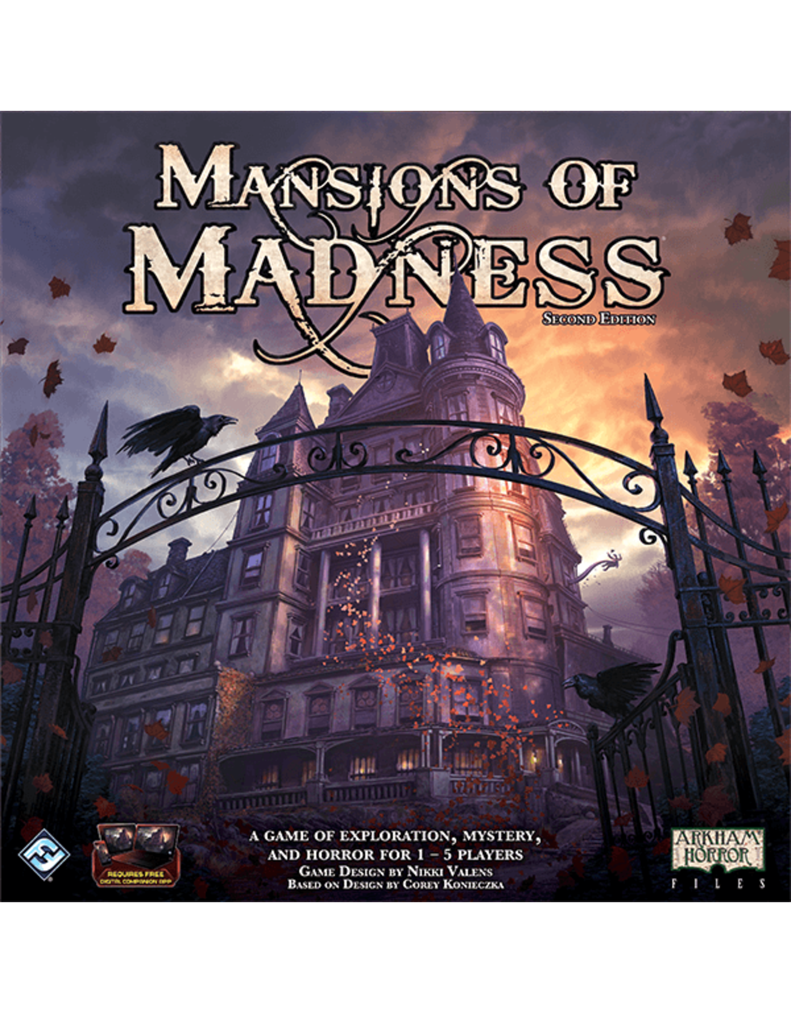 Fantasy Flight Games Mansions of Madness 2nd Ed.