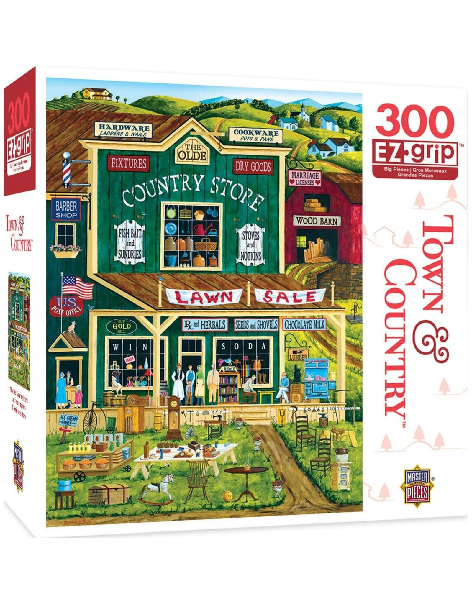 Masterpieces Puzzles The Old Country Store EZ 300pc