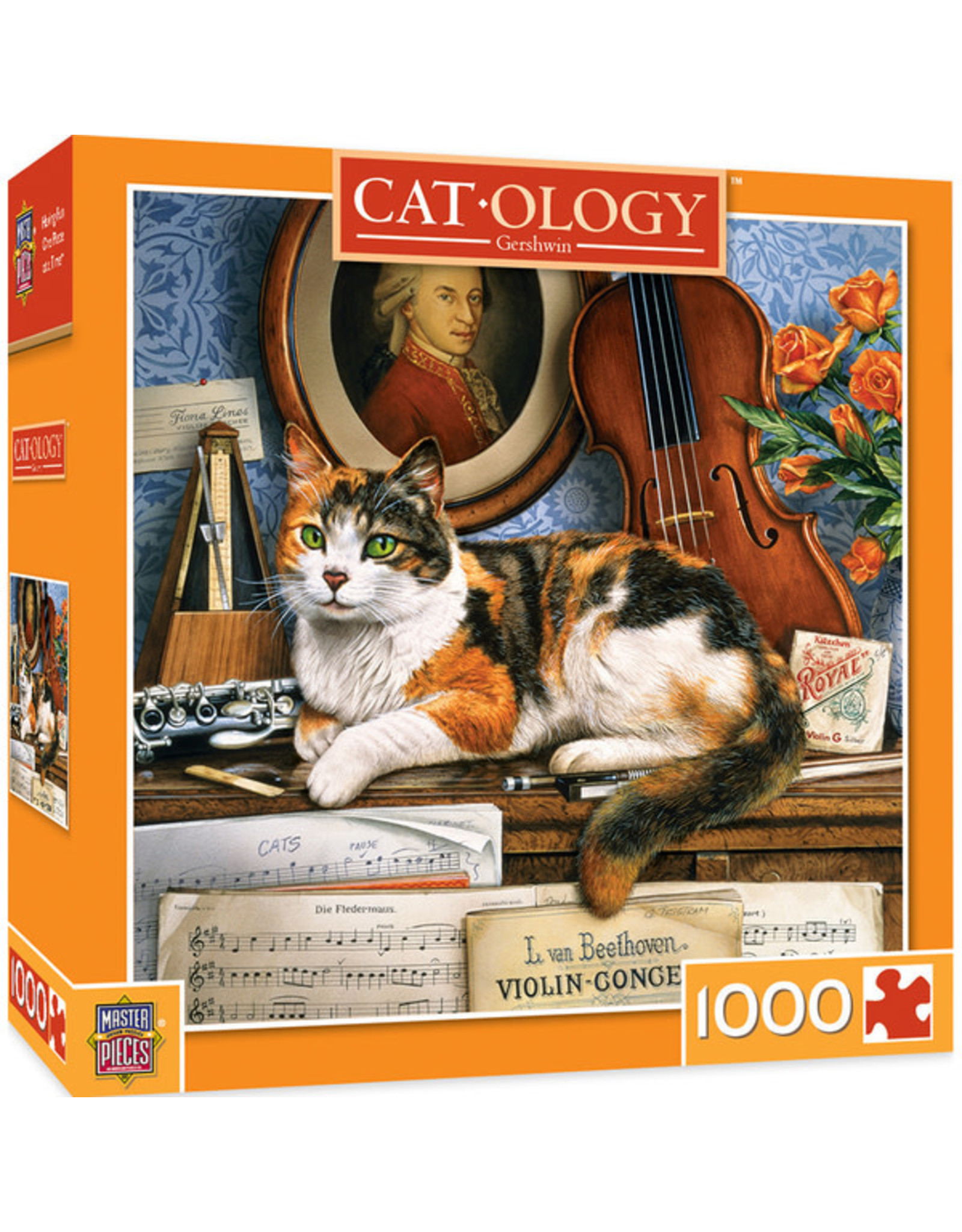 Masterpieces Puzzles Gerschwin 1000pc