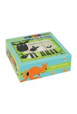Mudpuppy Baby Animals 9 Blocks