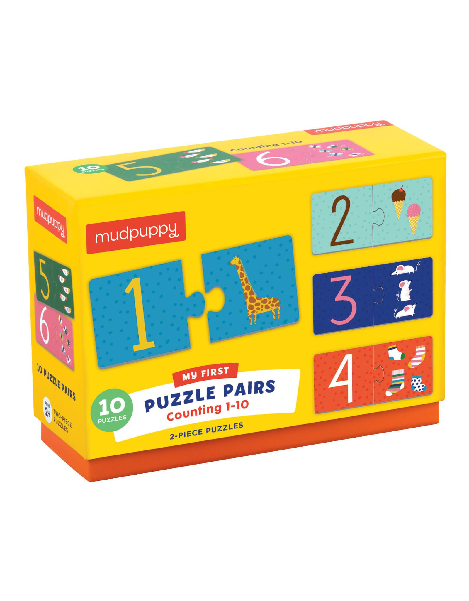 Mudpuppy Counting 1-10 10 x 2pc