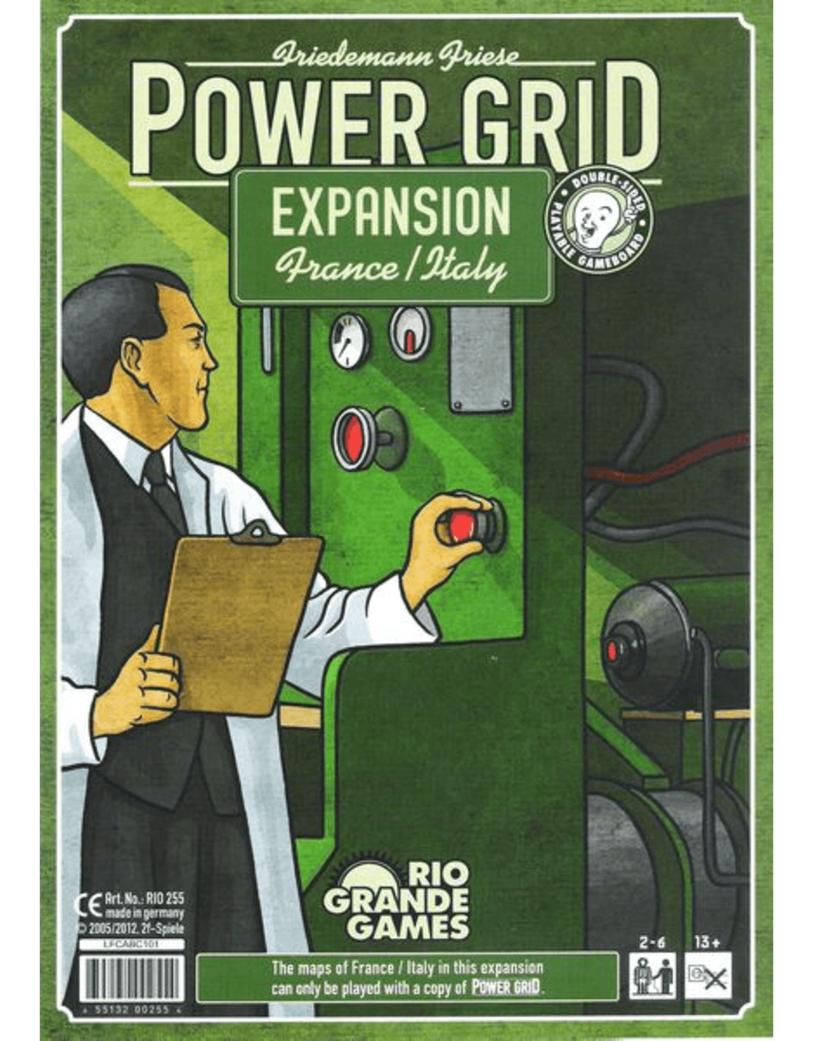 Rio Grande Games Power Grid: Italy/France Expansion