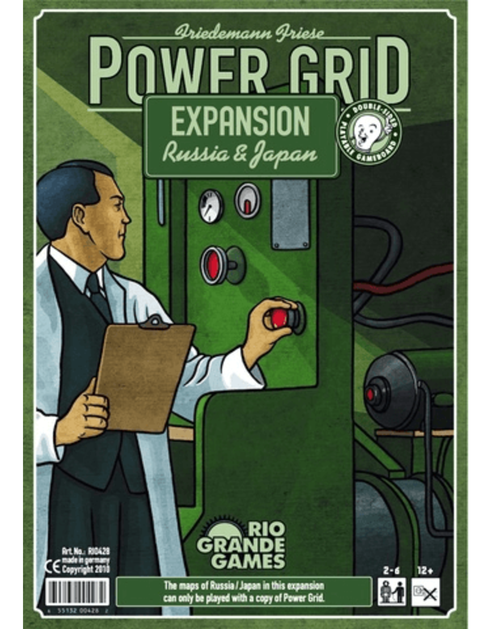 Rio Grande Games Power Grid: Russia/Japan Expansion