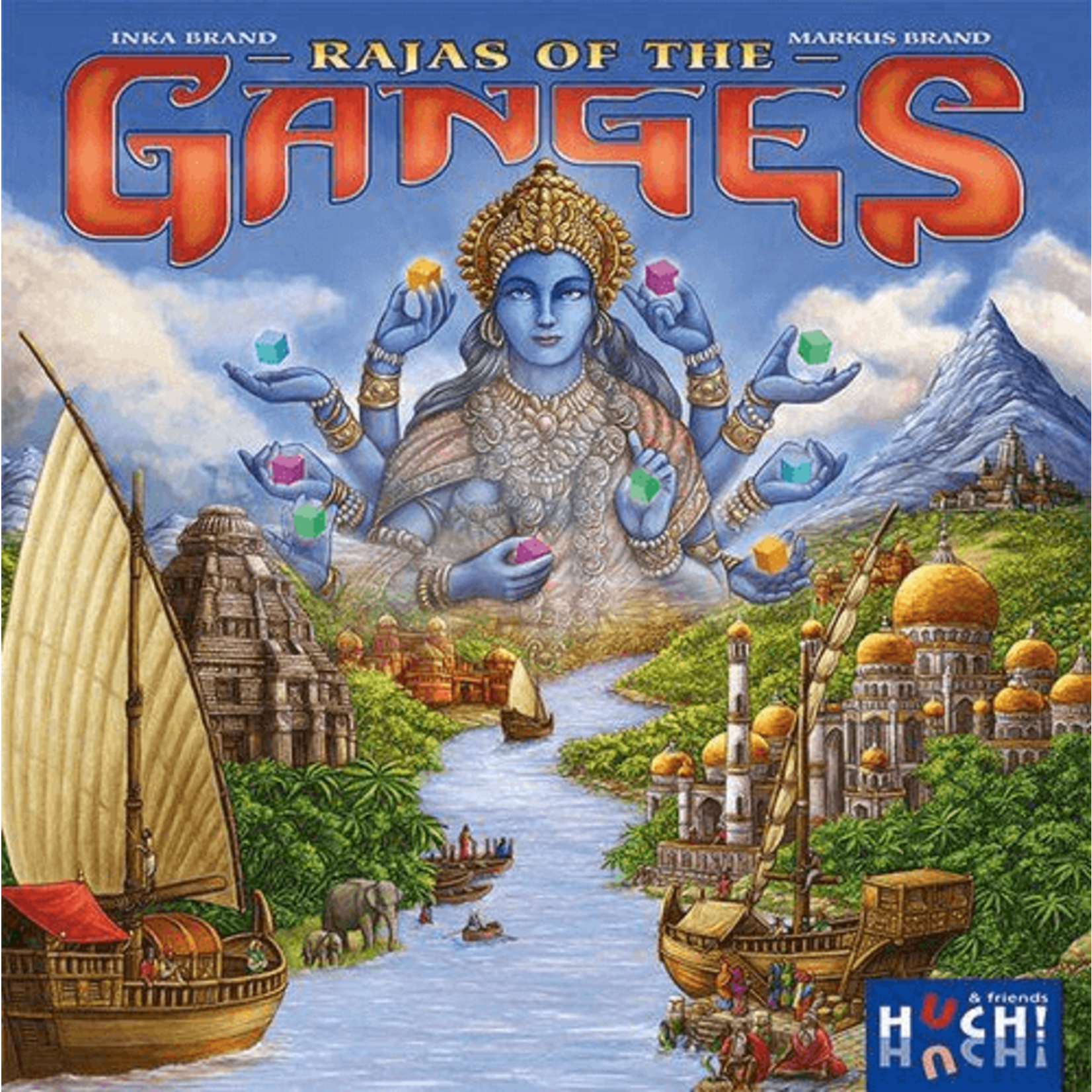 R&R Games Rajas of the Ganges