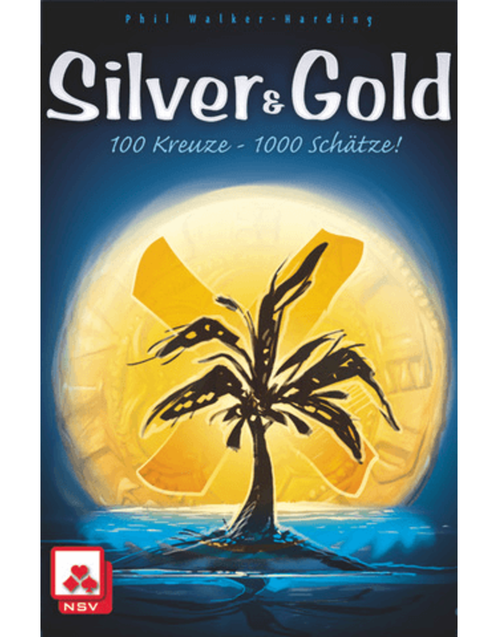 Pandasaurus Silver & Gold