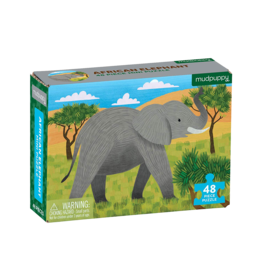 Mudpuppy African Elephant 48pc