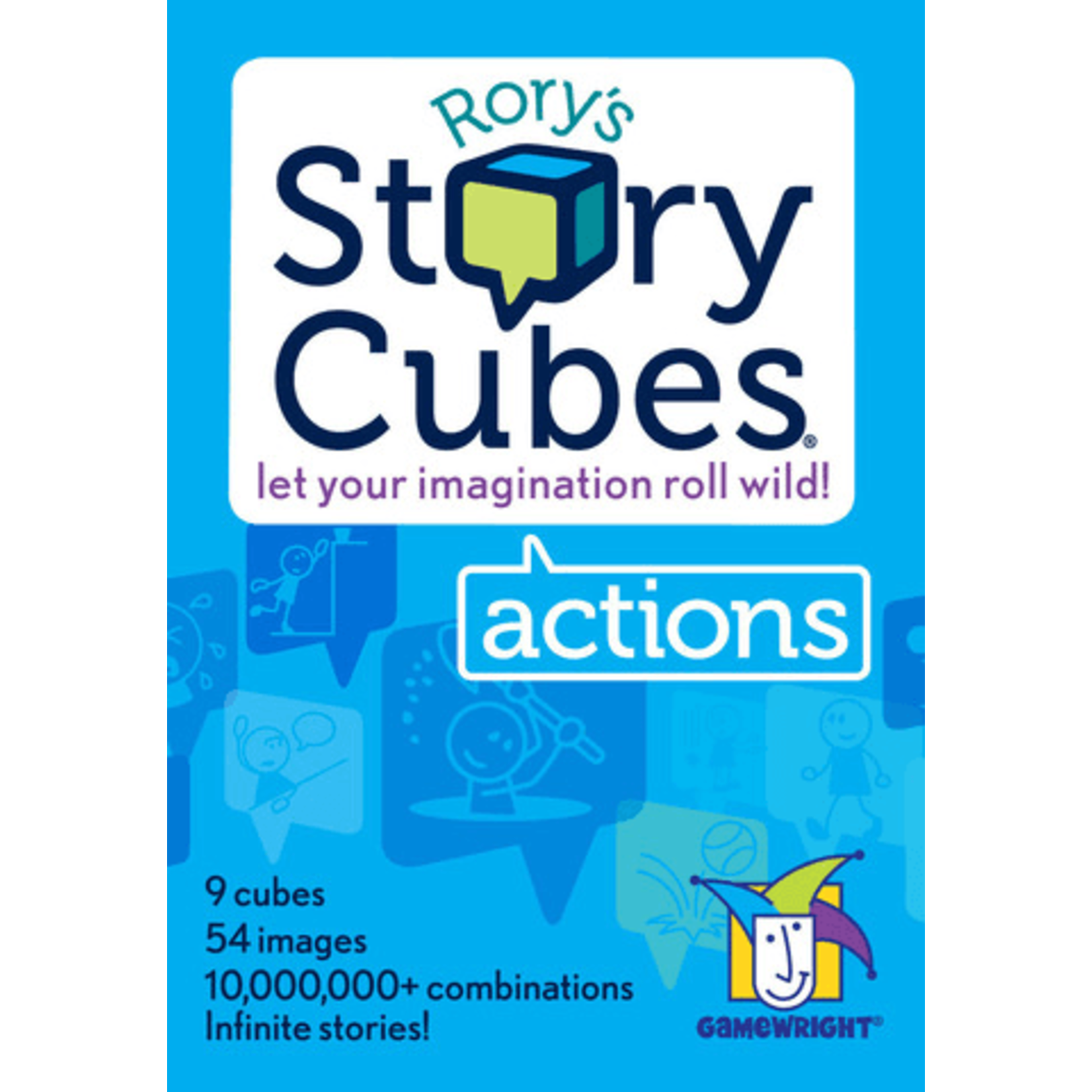 Asmodee Rory's Story Cubes: Actions