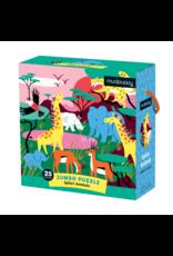 Mudpuppy Safari Animals Jumbo 25pc