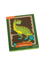 Mudpuppy Mighty Dinosaurs Puzzle Sticks 8pc