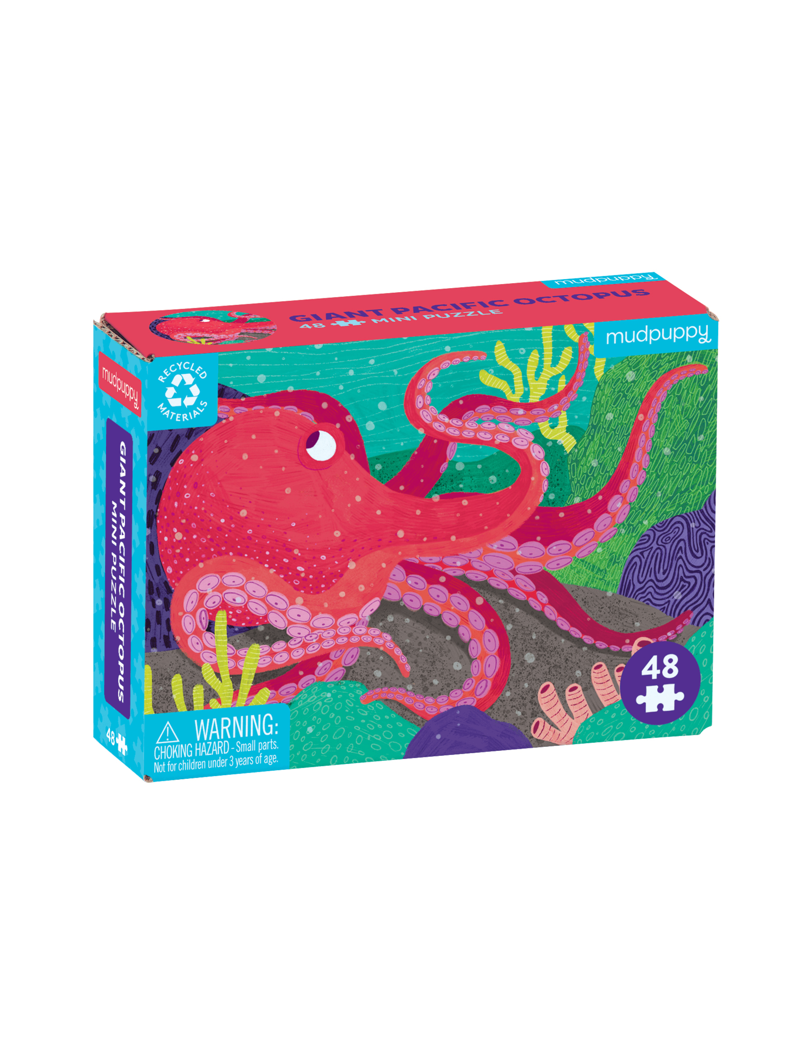 Mudpuppy Giant Pacific Octopus 48pc