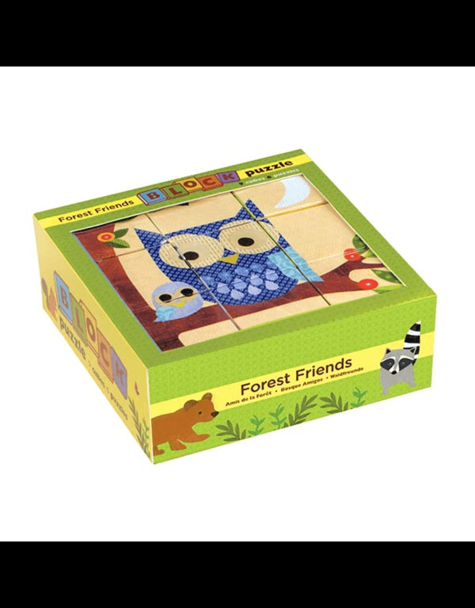 Mudpuppy Forest Friends 9 Blocks