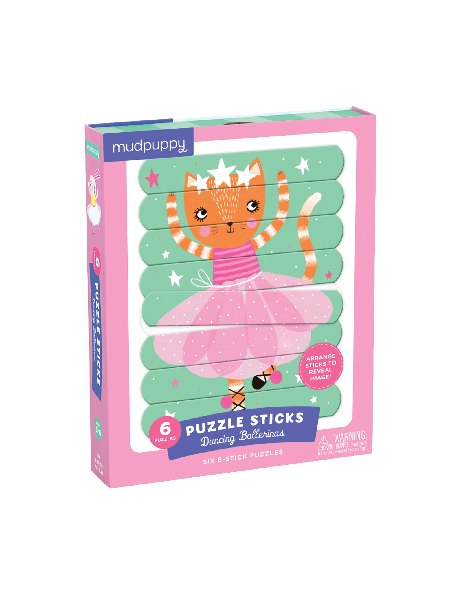 Mudpuppy Dancing Ballerinas Puzzle Sticks 8pc