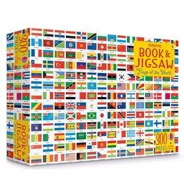 Usborne Flags Book & Jigsaw 300pc