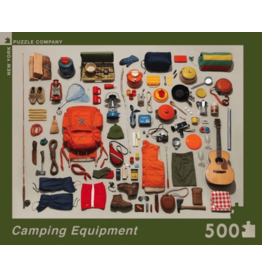 New York Puzzle Co Camping 500pc