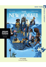 New York Puzzle Co City Dogs 1000pc