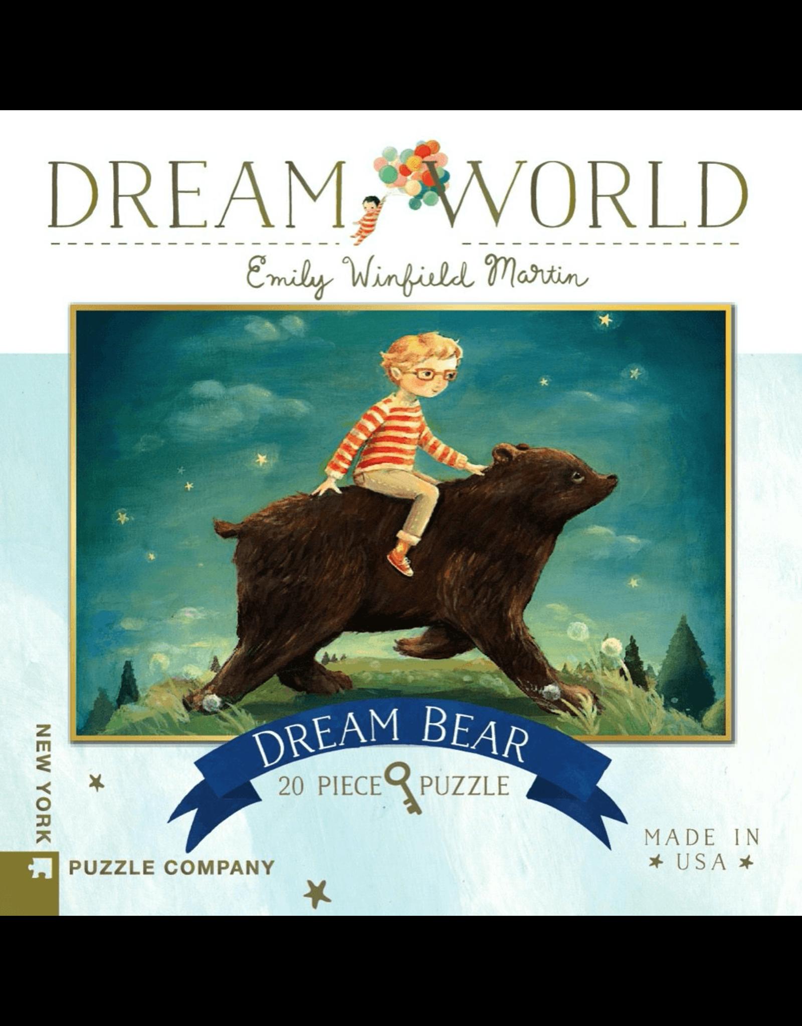 New York Puzzle Co Dream Bear 20pc