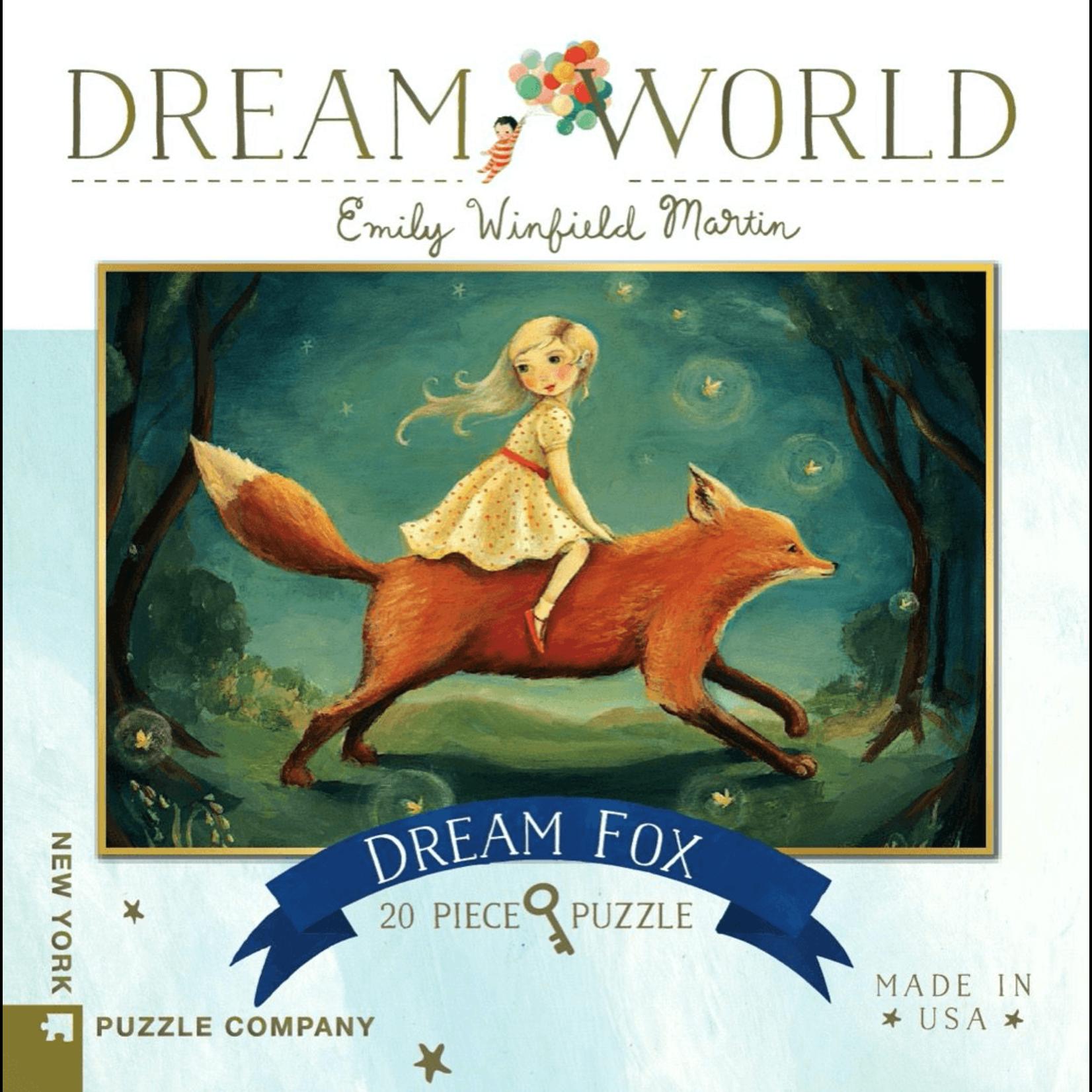 New York Puzzle Co Dream Fox 20pc