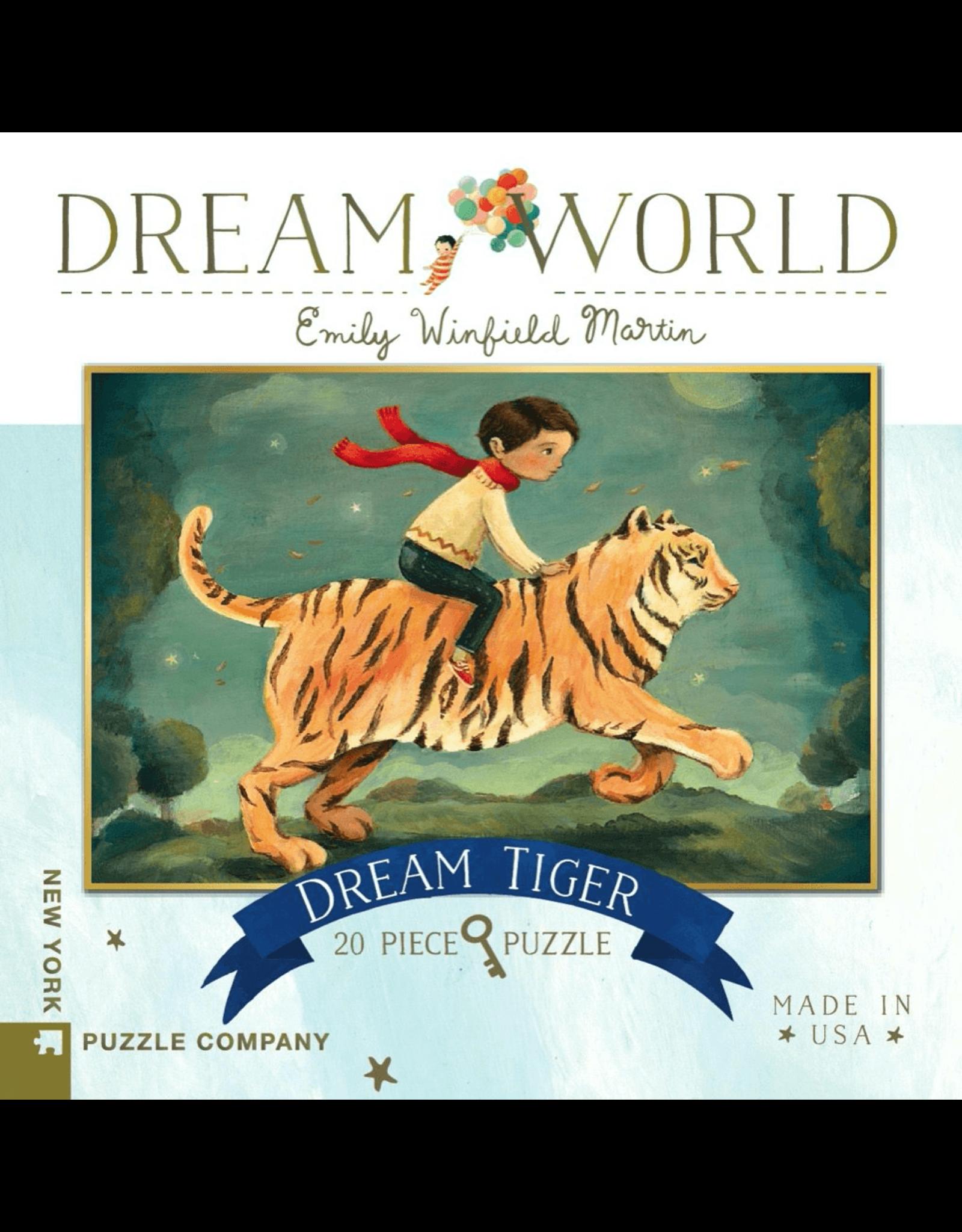 New York Puzzle Co Dream Tiger 20pc