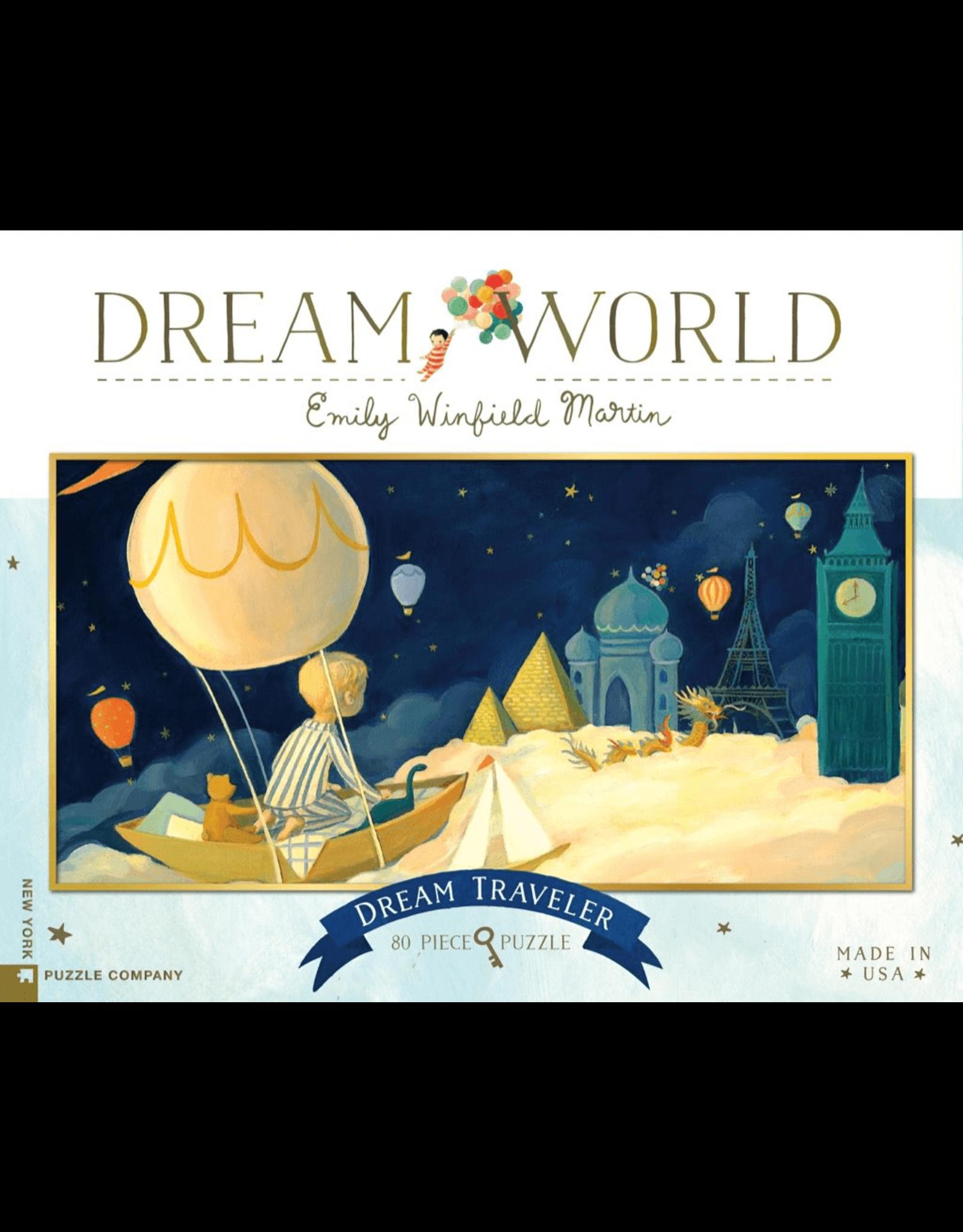 New York Puzzle Co Dream Traveler 80pc