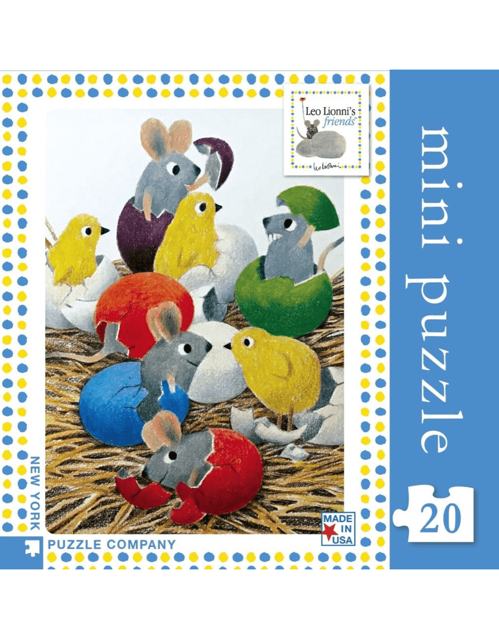 New York Puzzle Co Happy Hatching Mini 20pc