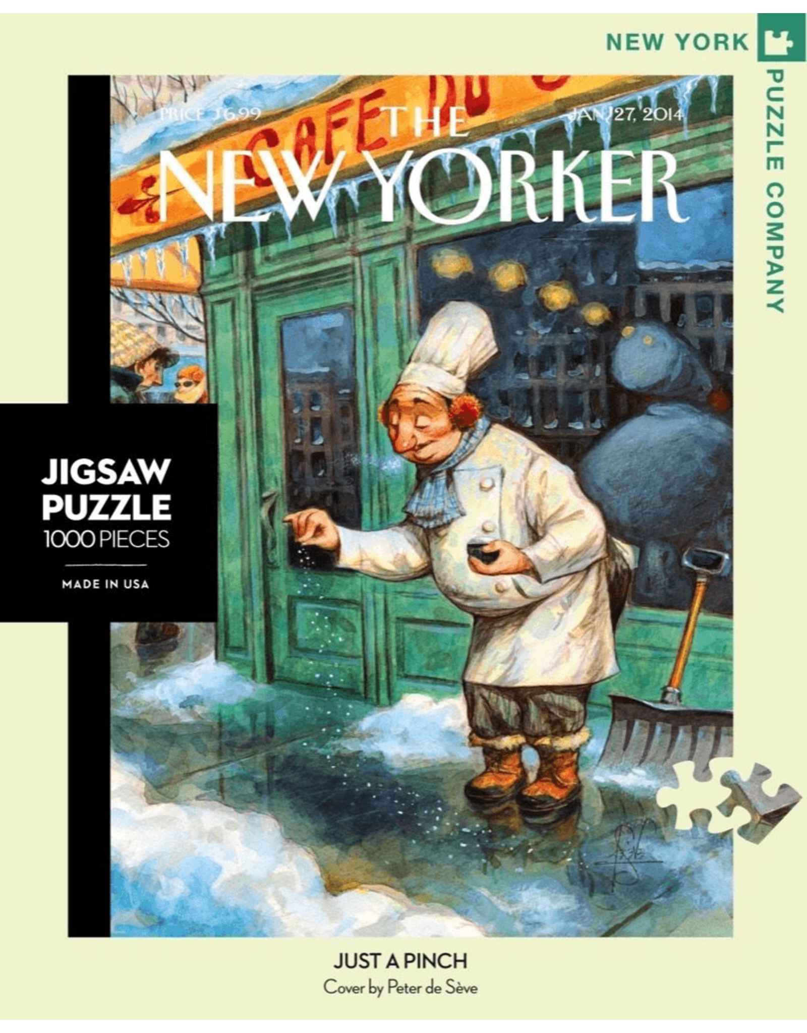 New York Puzzle Co Just a Pinch 1000pc