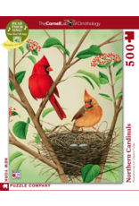 New York Puzzle Co Northern Cardinals 500pc