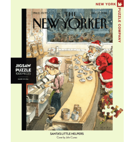 New York Puzzle Co Santa's Little Helpers 1000pc