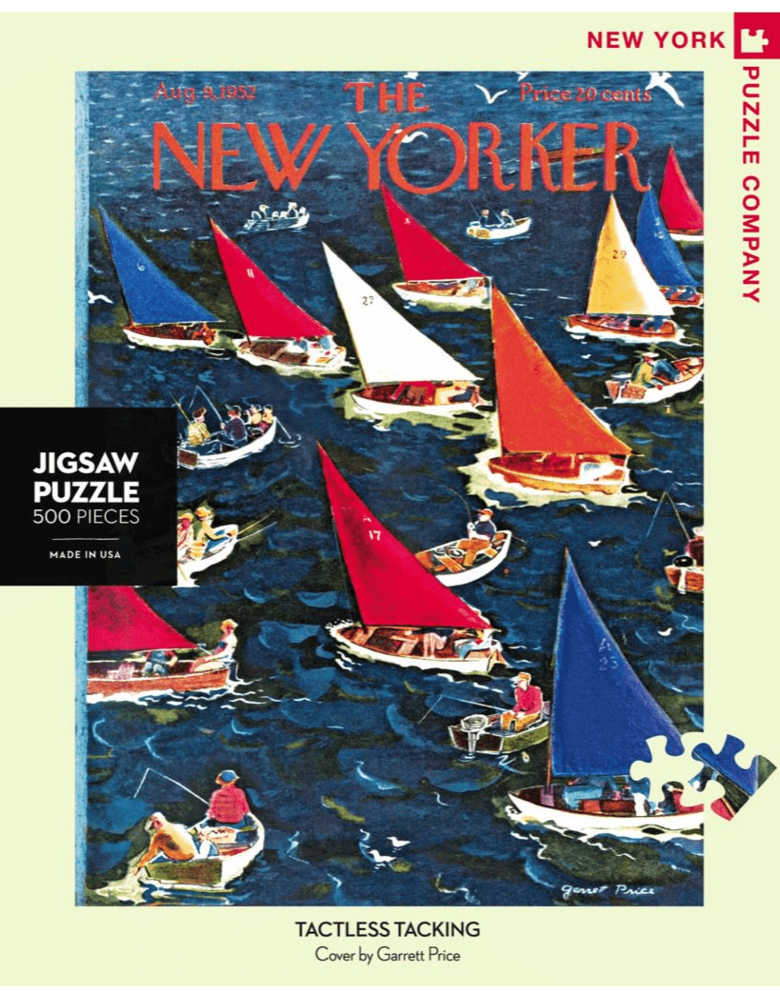 New York Puzzle Co Tactless Tacking 500pc