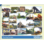 New York Puzzle Co Touring Europe 1000pc