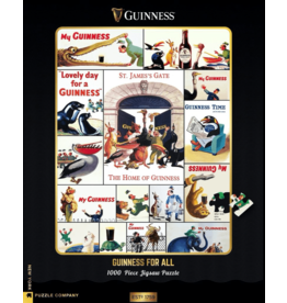 New York Puzzle Co Who's Got the Guinness? 1000pc