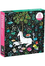 Mudpuppy Unicorn Reading 500pc