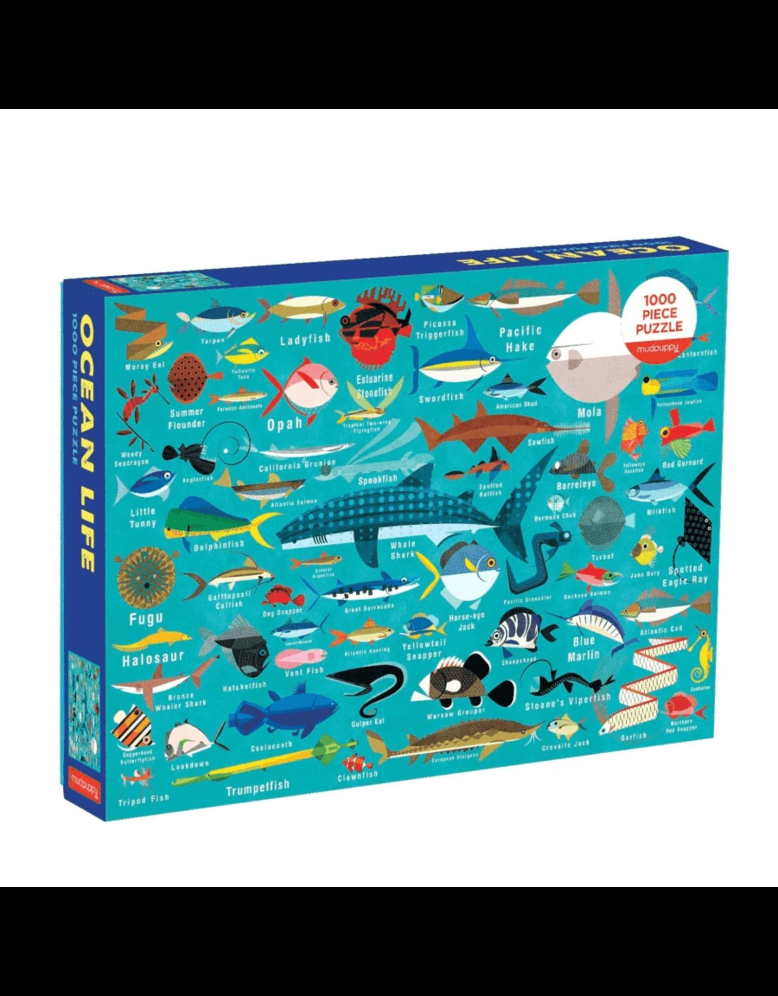 Mudpuppy Ocean Life 1000pc