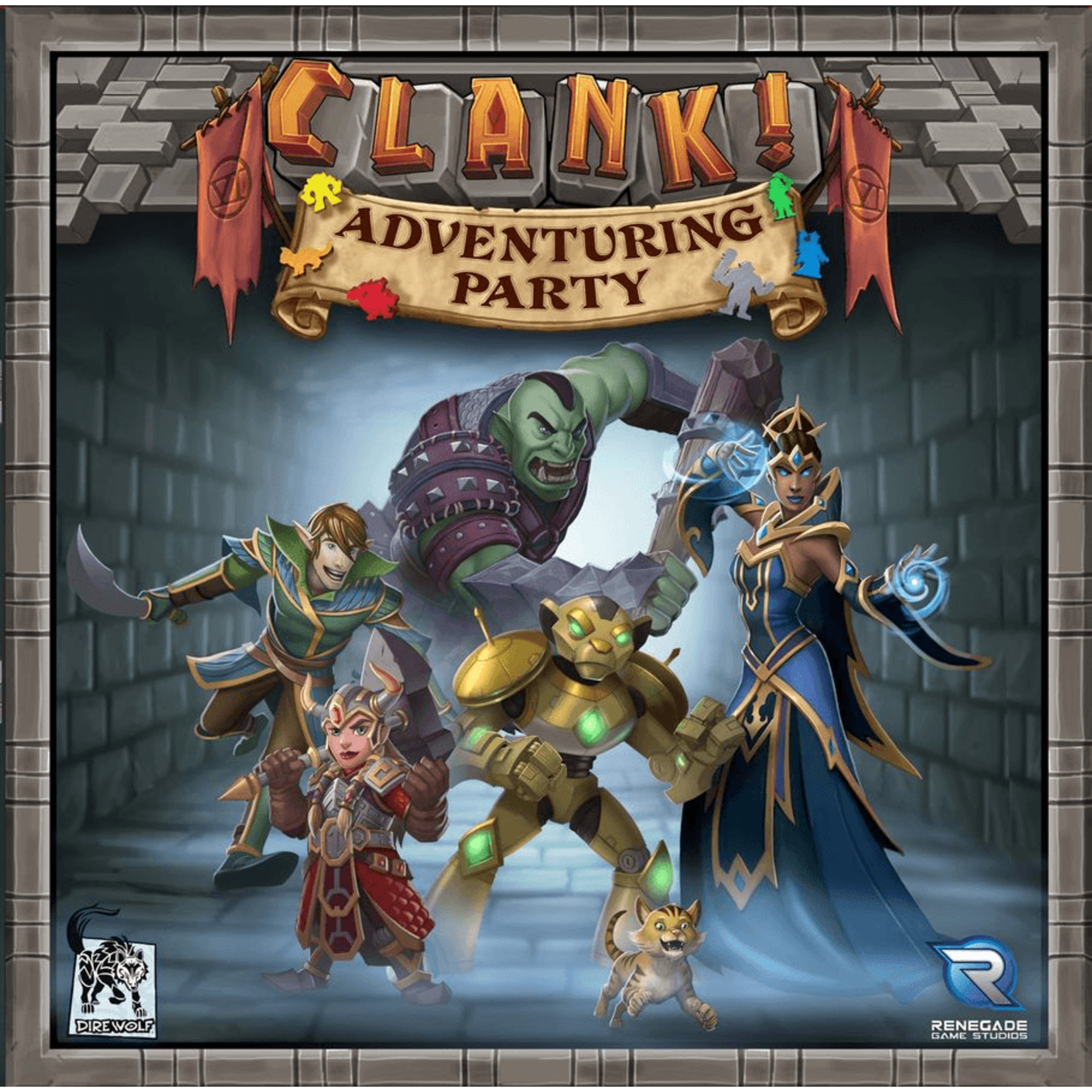 Renegade Game Studios Clank! Adventuring Party Expansion