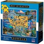 Dowdle Folkart Best of Seattle 500pc
