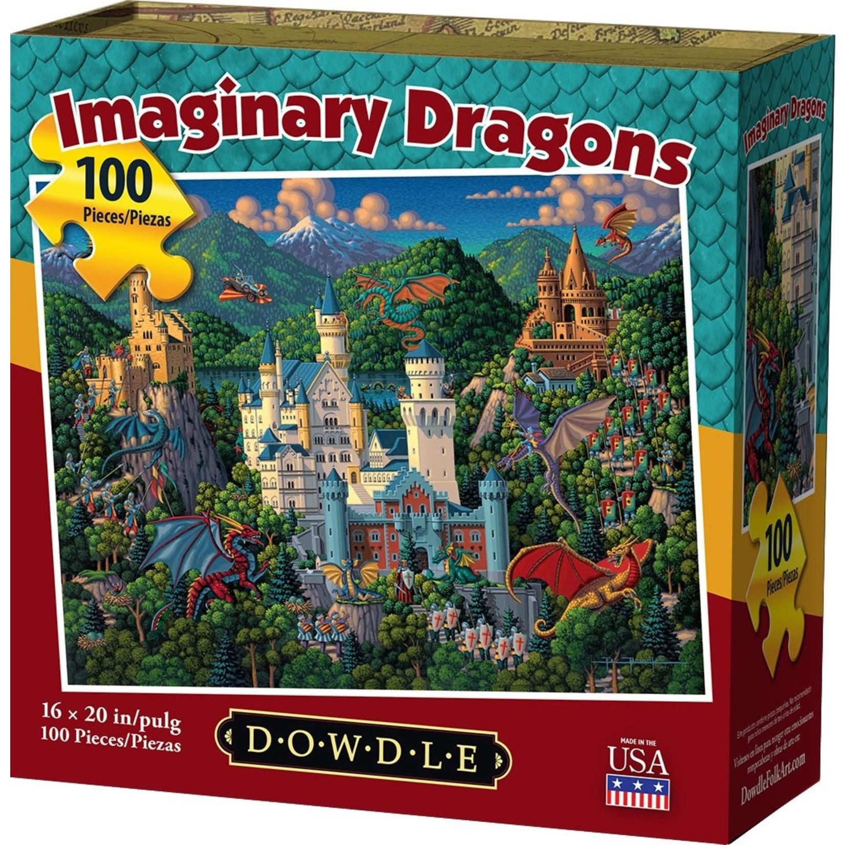 Dowdle Folkart Imaginary Dragons 1000pc
