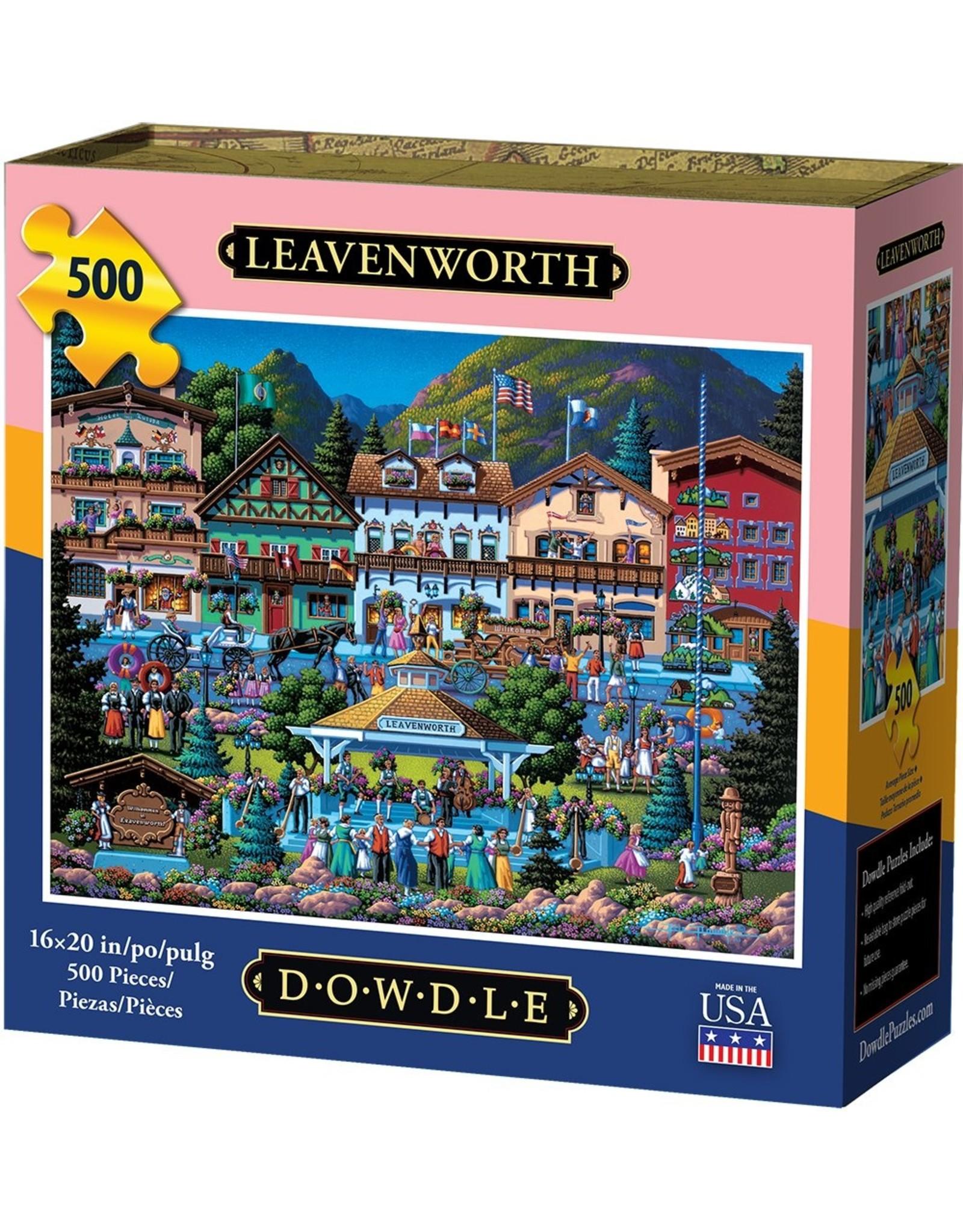 Dowdle Folkart Leavenworth 500pc