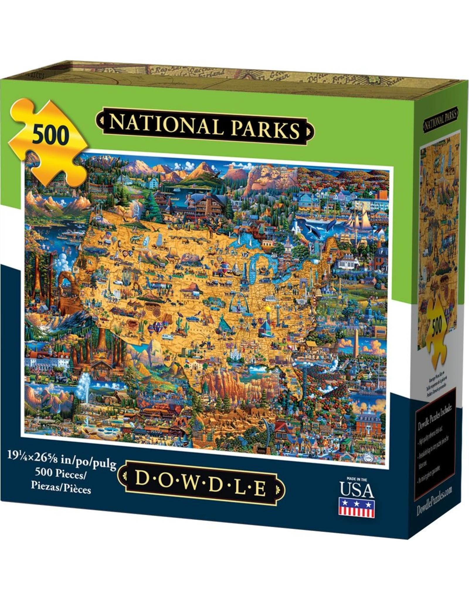 Dowdle Folkart National Park Pzl 500