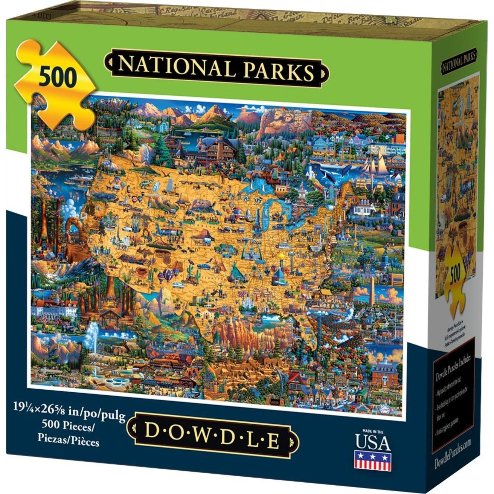Dowdle Folkart National Parks Pzl 500