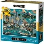 Dowdle Folkart Seattle 1000pc