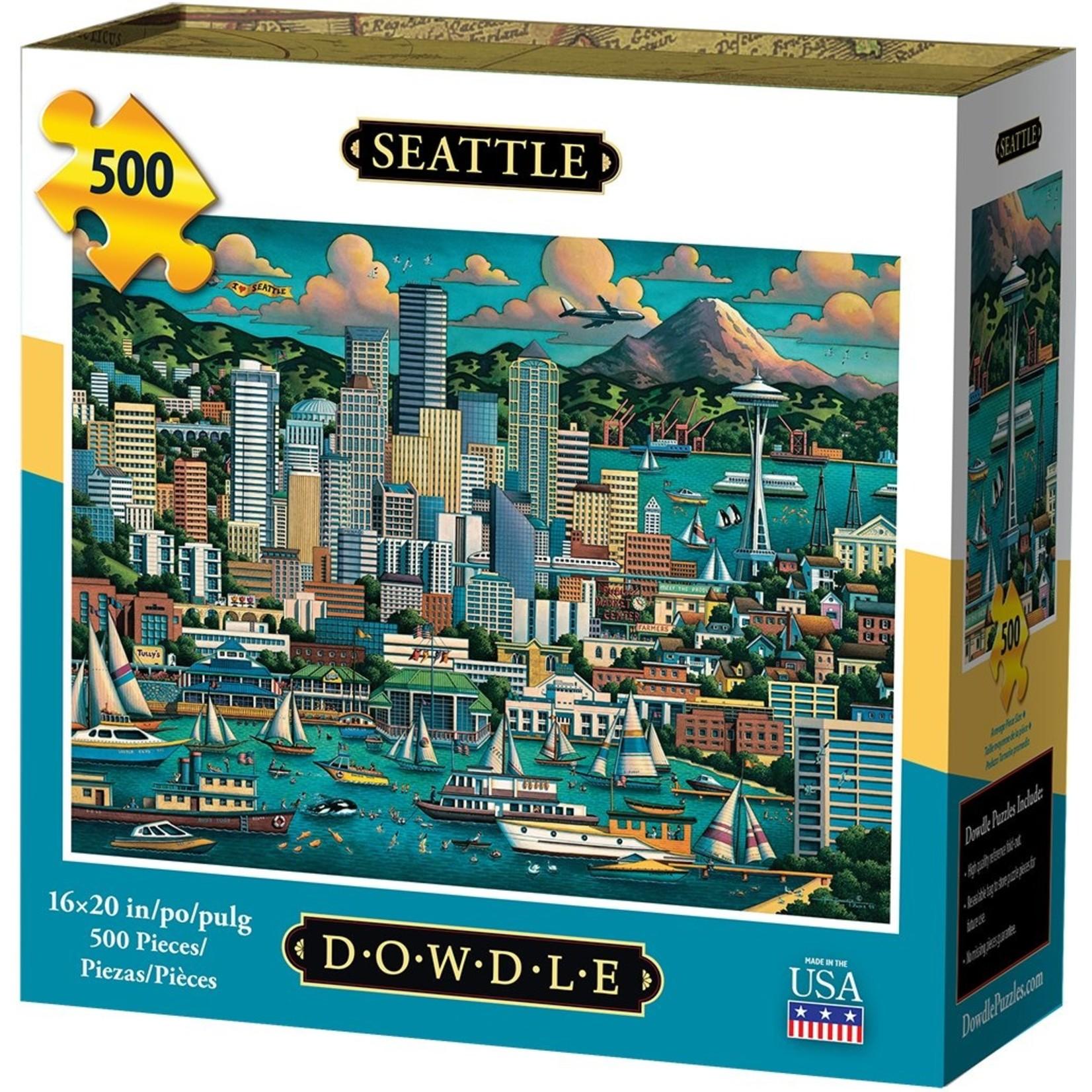 Dowdle Folkart Seattle 500pc