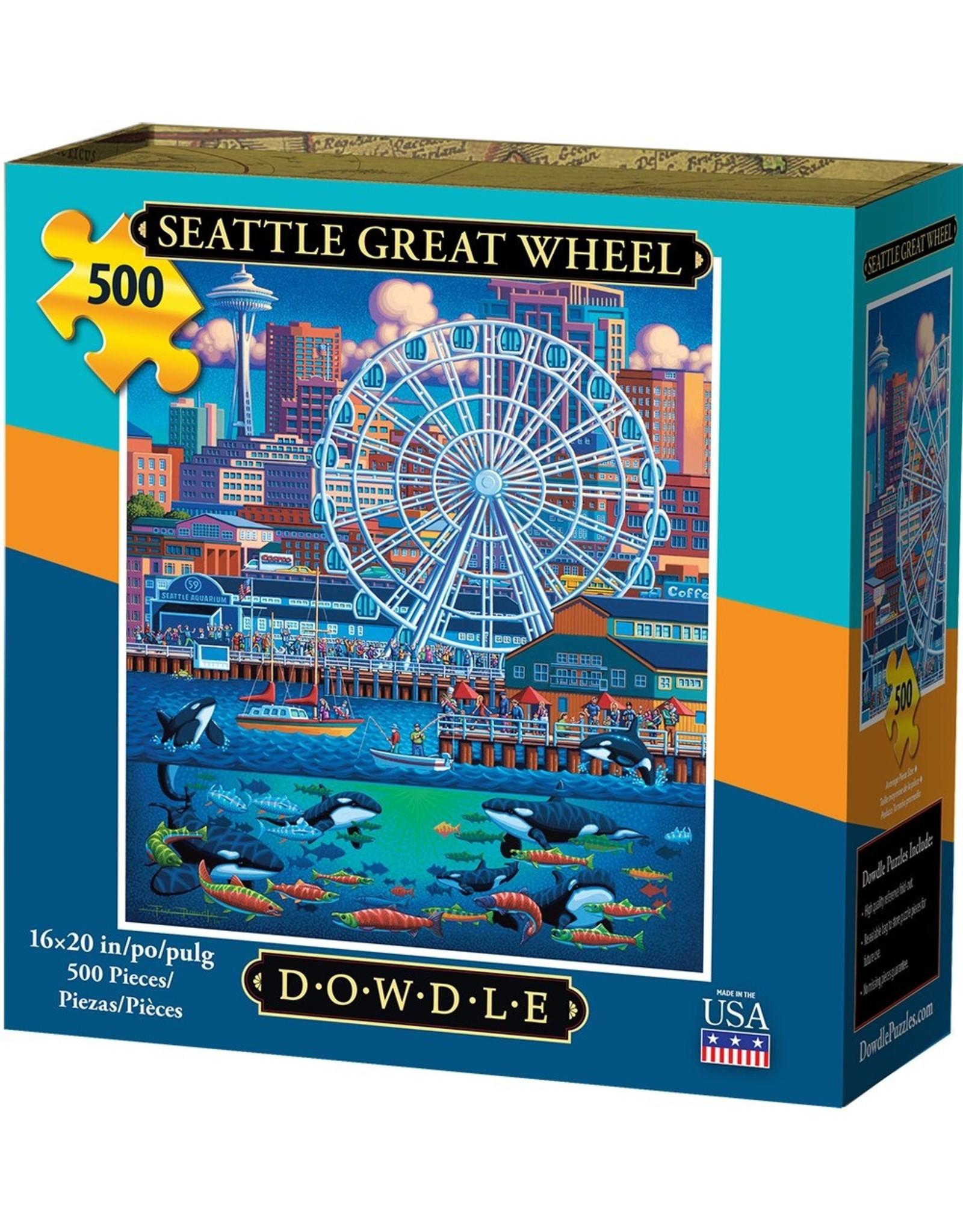 Dowdle Folkart Seattle Great Wheel 500pc