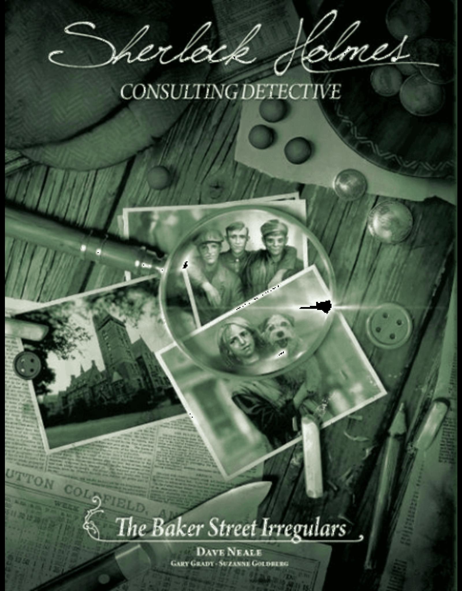 Asmodee Sherlock Holmes: Baker Street Irregulars