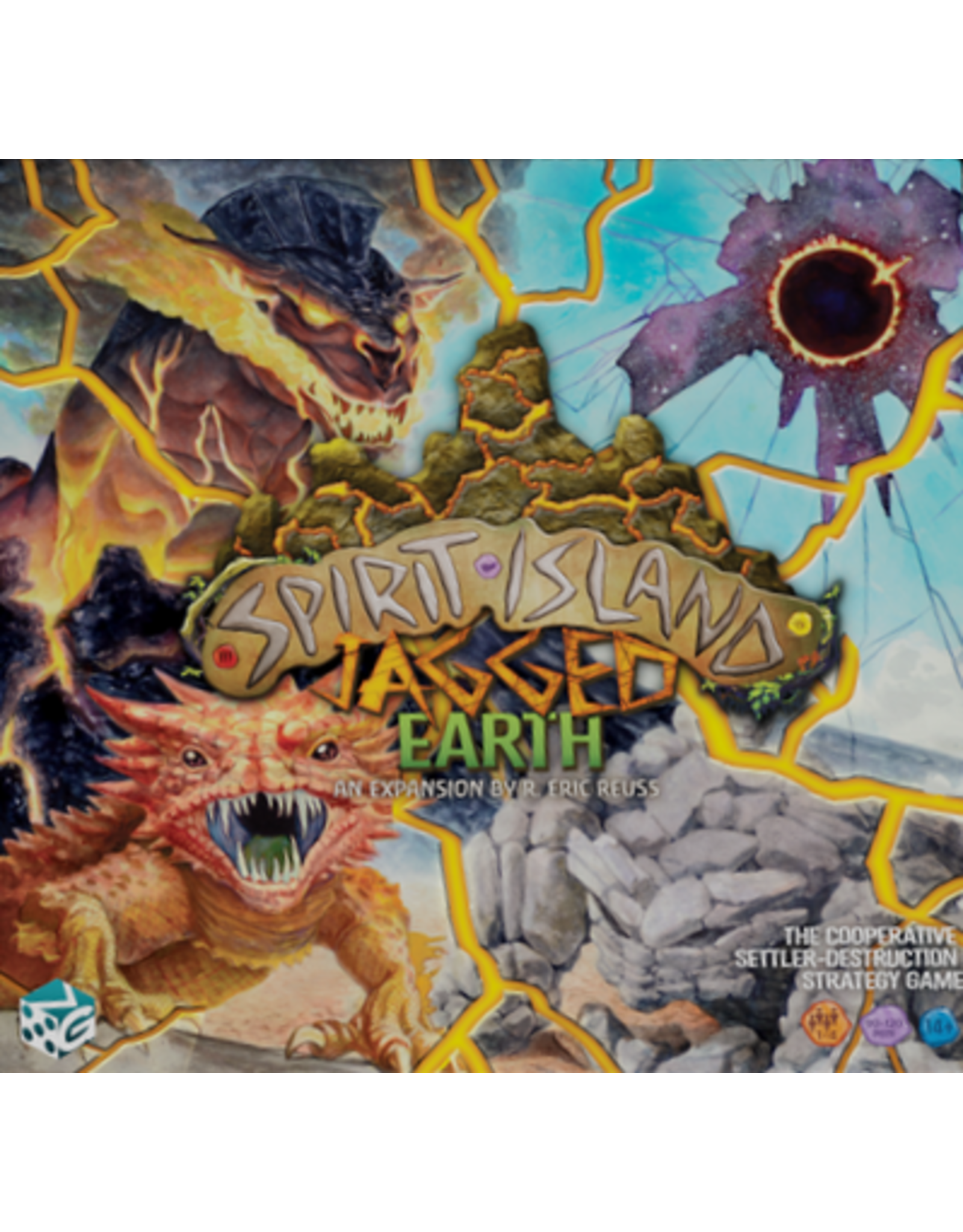 Greater Than Games Spirit Island: Jagged Earth