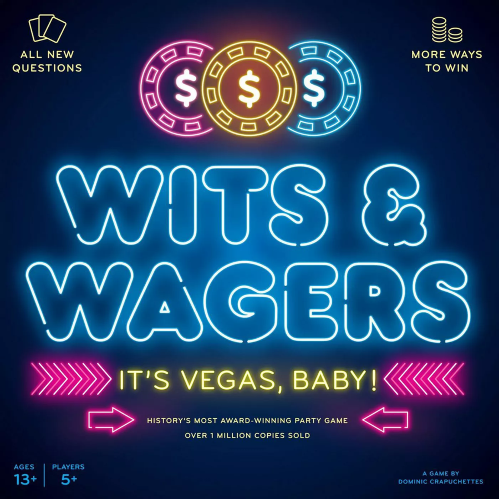 North Star Games Wits & Wagers: It's Vegas, Baby!