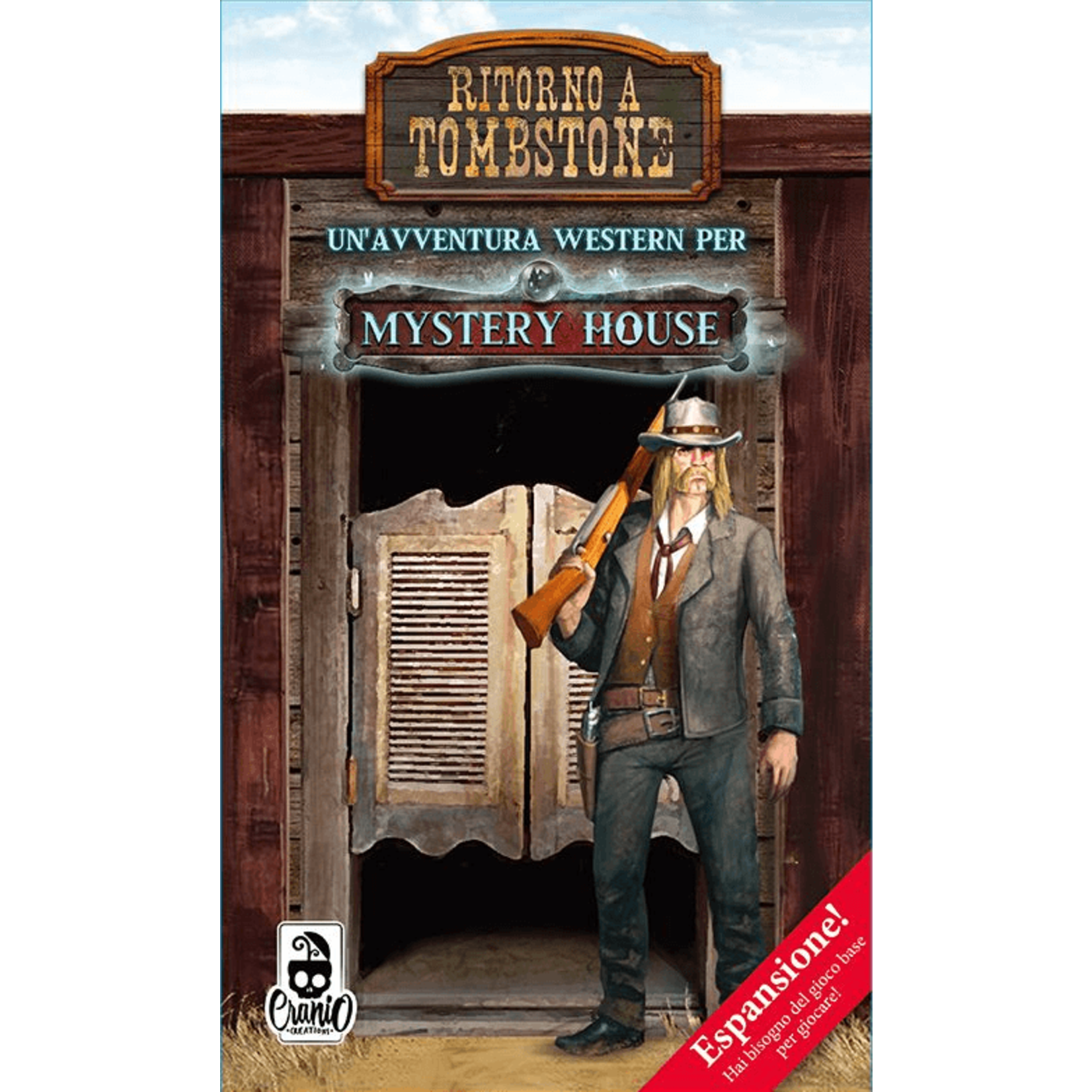 Asmodee Mystery House: Back to Tombstone Exp
