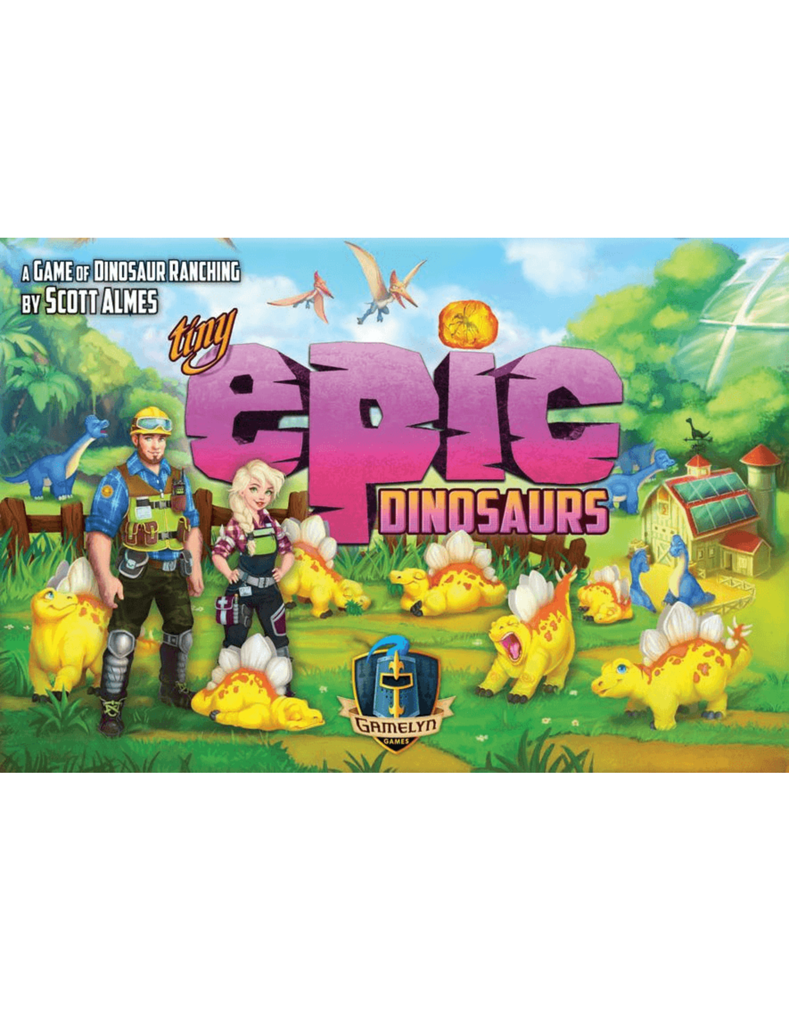 Gamelyn Tiny Epic Dinosaurs