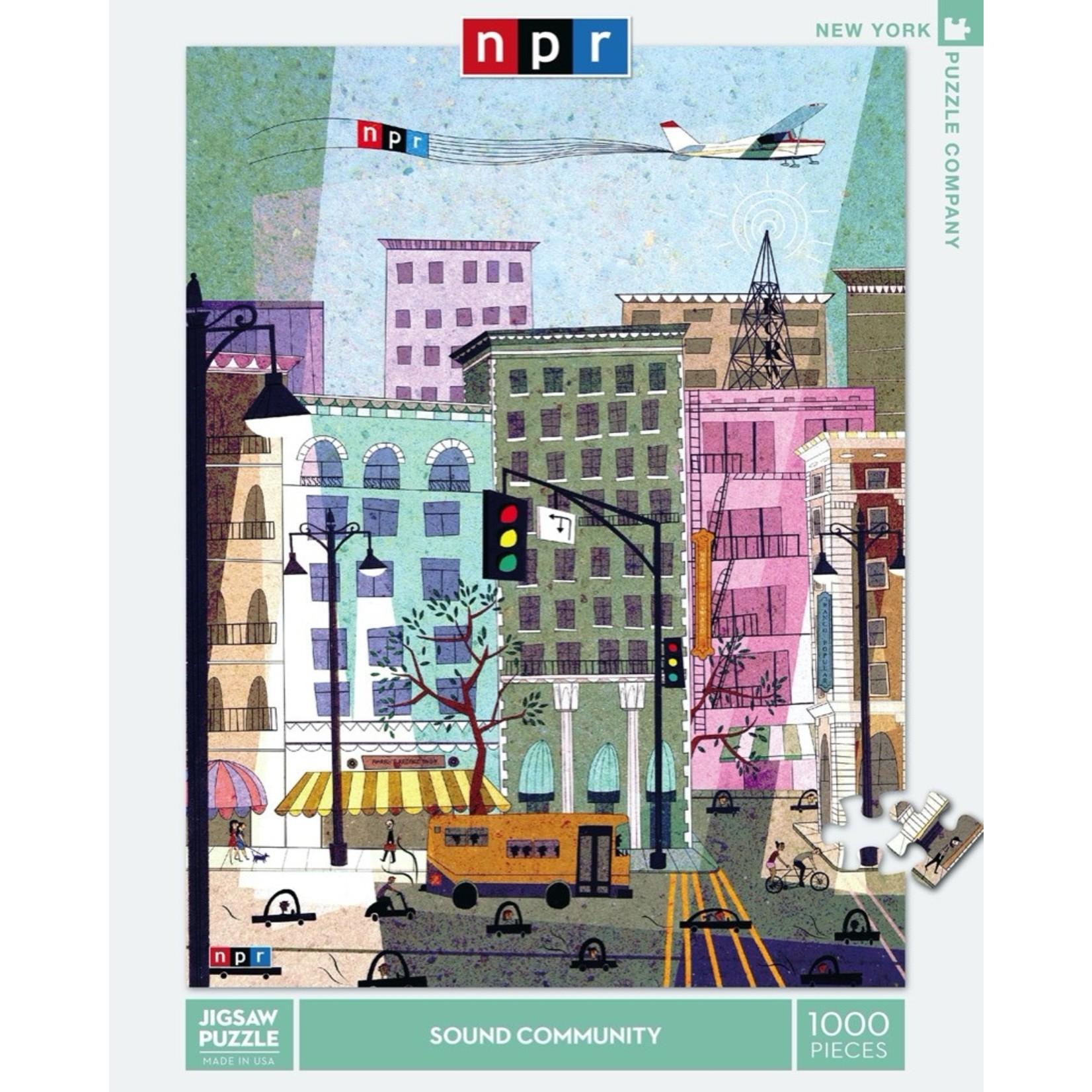 New York Puzzle Co Sound Community 1000pc