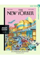 New York Puzzle Co JFK International Rocketport 1000pc